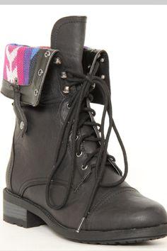 Combat boots!!! Love em!!!