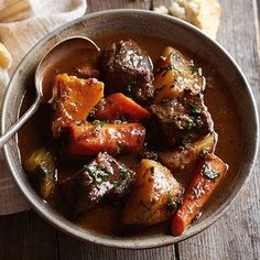 Autumn Beef Stew | Midwest Living