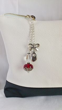 add your own Charm or tassle ect to your purse~Carrie Purse charm bag charm handbag charm beaded by TheAccessorieBox