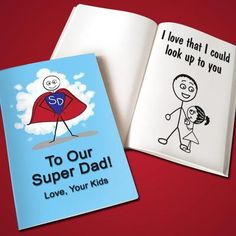 Gift Idea: Personalized Father's Day LoveBook - Soft Cover