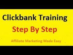 Clickbank Affiliate Marketing Training Video 1 - YouTube