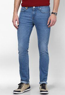 Stylish, Latest Fasionable & Well Designed Wrangler Light Blue Skinny Fit Jeans men features product specifications, reviews, ratings, images, price chart and more to assist the user