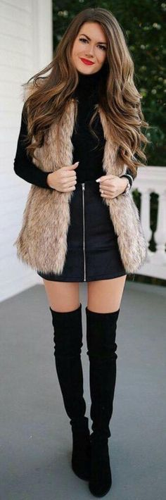 Fall outfits ideas to winter fashion Look Fashion, Trendy Fashion, Autumn Fashion, Womens Fashion, Fashion Black, Classy Winter Fashion, Skinny Fashion, Fashion Spring, Mode Outfits