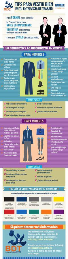 Tips para vestir bien en tu entrevista de trabajo