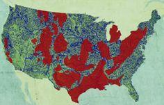 USA Shale Gas Map