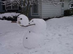 silly old snowmen