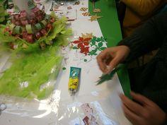 Workshop da árvore de natal - Dezembro de 2013