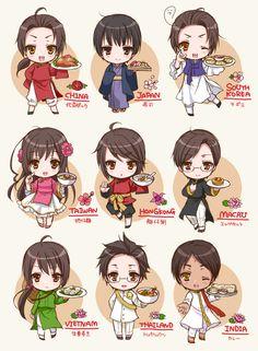 China,Japan,South Korea,Taiwan,Hong Kong,Macau,Vietnam,Thailand and India!!
