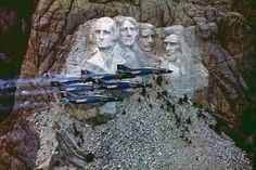 Happy 4 Of July, Fourth Of July, Mount Rushmore, Us Navy Blue Angels, F4 Phantom, Donald Trump Jr, Air Show, God Bless America, South Dakota