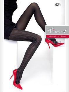 SAVINIA Microfabric Tights Hosiery nylons 40 den Black NWT NEW Fiore  #Fiore #Tights