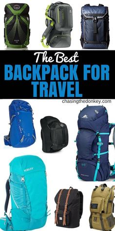 The Best Minimalist Travel Backpack for Carry On Travel Backpack Carry On, Chic Backpack, Hiking Backpack, Travel Bags, Travel Luggage, Camping Rucksack, Cheap Travel, Photos Vintage, Bali