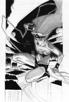 Wonder Woman Sketch by jeffwamester.deviantart.com on @DeviantArt