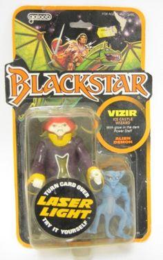 1983 Galoob Blackstar Laser Light Vizir