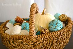 Add a little Fall Decor at the Beach ~ House on the Way
