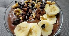 Owsianka budyniowa Acai Bowl, Pudding, Breakfast, Desserts, Egg As Food, Acai Berry Bowl, Morning Coffee, Tailgate Desserts, Deserts