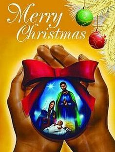 A set of 15 holiday greeting cards highlighting a pair of hands holding a blue Christmas ornament with an image of Joseph & Mary looking over Jesus as an infant Merry Christmas Images, Christmas Jesus, Christmas Blessings, Black Christmas, Christmas Nativity, Christmas Clipart, Christmas Quotes, Christmas Wishes, Christmas Pictures