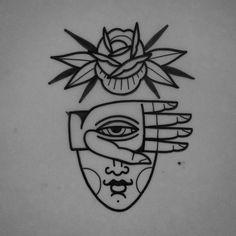 Flash Art Tattoos, Body Art Tattoos, Black Ink Tattoos, Small Tattoos, Tattoo Sketches, Tattoo Drawings, Stencils Tatuagem, Tatuagem Old Scholl, Modern Body Art