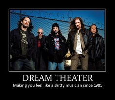 i can hit every note, every song, every album, including WDADU. It only took ten years of continuous practice and countless lessons. Soul Music, Music Is Life, Great Bands, Cool Bands, John Petrucci, Rock Album Covers, Dream Theater, Band Photography, Heavy Metal Music