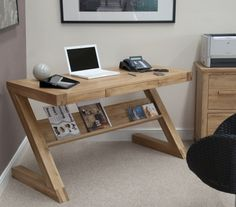 Love the z style of this desk for something a little different than your average desk
