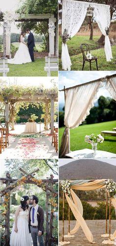 Los arcos para boda son uno de los grandes detalles que serán protagonistas en el día de tu boda. Descubre y copia estos ejemplos tan románticos de hoy