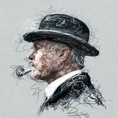 """This 10x10""""  Peaky Blinders Chester Campbell Digital Art is also available at Fine Art America should you have missed the 30% off offer at eBay."""
