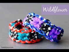 Want to learn how to make Rainbow Loom Bracelets? We've found many rainbow loom instructions and patterns! We love making bracelets, creating and finding helpful loom tutorials. Rainbow Loom Tutorials, Rainbow Loom Patterns, Rainbow Loom Creations, Loom Bands Designs, Loom Band Patterns, Loom Love, Fun Loom, Loom Band Bracelets, Rubber Band Bracelet