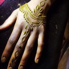 Современная роспись хной   Natural Henna