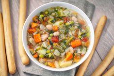 Minestrone Soup by Davide Illini on Pasta Con Broccoli, Ratatouille, Pesto, Cantaloupe, Salsa, Sandwiches, Curry, Fruit, Diets