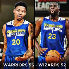 The #Warriors are 1-0 in the #NBASummerLeague after yesterday's 56-52 win over the Wizards in Las Vegas. Kent Bazemore scored 16 of his 21 points in the second half and Draymond Green had 15 points. Get full coverage of the team in Las Vegas at warriors.com/summerleague
