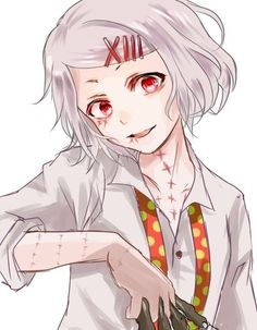 Juuzou Suzuya… You truly please me… Everything from you make me feel. Ter… – My CMS Rei Tokyo Ghoul, Juuzou Tokyo Ghoul, Juuzou Suzuya, Kaneki, Rin Okumura, Arte Emo, Anime English, Attack On Titan, Fanarts Anime