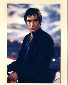 Licence To Kill  His combination of jackets and shirts and use of blues and blacks has always intrigued me, Dalton being one of the few Bond actors to have a say in his wardrobe. I'm not ashamed to admit I often try to emulate his dress style.