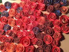 #Rosa #SantJordi  #mesquetapes #cartolina #colablanca #manualitats #recargolar #cartró