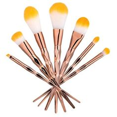 Owill Stylish Blending Pencil Foundation Powder Eye Shadow Makeup Brushes/Suitable for All Skin Types (Gold) -- Check out the image by visiting the link. (This is an affiliate link) Eyeshadow Brushes, Eyeshadow Makeup, Makeup Brushes, Powder Foundation, Makeup Tools, Eye Shadow, Image Link, Pencil, Hair Accessories