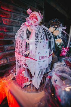 Vogelkäfig Kartenbox Hochzeit