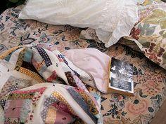Posie Gets Cozy - Love these fabrics!