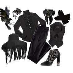 Designer Clothes, Shoes & Bags for Women Goth Look, Goth Style, Goth Grunge, Shoe Tattoos, Gothic Glam, Vivienne Westwood Anglomania, Alternative Outfits, Dark Fashion, Outfit Sets