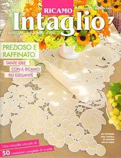 Ricamo Intaglio #7 From Mani di Fata - Books & Magazines - Embroidery - Casa Cenina
