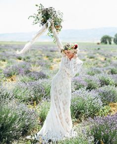 """""""It's the weekend!! Hope you have something fun planned Gorgeous capture in the Lavender Fields by @tessa_barton as seen #onGWS {see more from this…"""""""