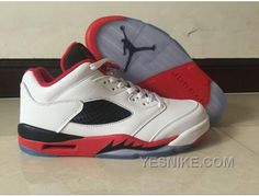 """http://www.yesnike.com/big-discount-66-off-air-jordan-5-retro-low-fire-red-white-fire-redblack.html BIG DISCOUNT! 66% OFF! AIR JORDAN 5 RETRO LOW """"FIRE RED"""" WHITE/FIRE RED-BLACK Only $80.00 , Free Shipping!"""