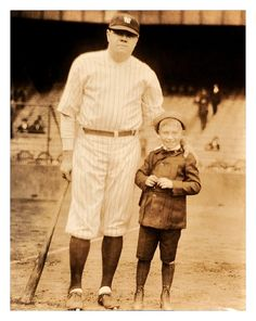 Another Lucky Boy Meets The Babe - 1926 Yankee Stadium