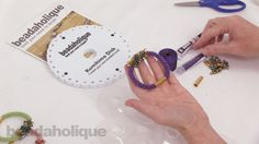How to Make the Deluxe Beaded Kumihimo Bracelet Kit with Pip Bead Focal