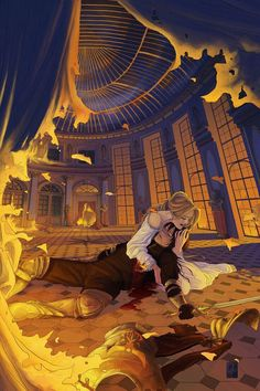 Feyre and Rhys. This image has always haunted me.