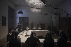 IDA scene4 dining room night int set-up -thefilmbook-