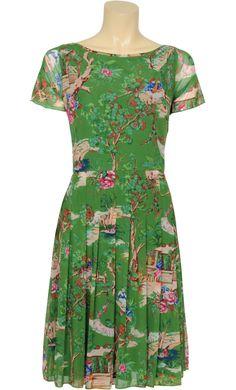 Pleat dress Pippa