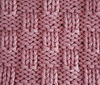 Ravelry: 4x2 Basket Weave pattern