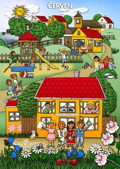 Červen Month Weather, Weather For Kids, Weather Seasons, Seasons Of The Year, Four Seasons, Autism Signs, Summer Activities For Kids, Drawing For Kids, Nursery Art