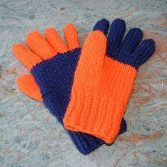 Gratis strikkeoppskrifter på herre fingervotter