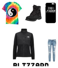 """"" by recognizeme ❤ liked on Polyvore featuring Timberland, The North Face, Current/Elliott, women's clothing, women's fashion, women, female, woman, misses and juniors"