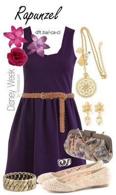 Disney's Tangled-Rapunzel  style
