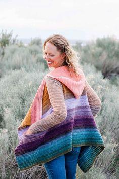Remix Cardigan Crochet pattern by Jess Coppom Make & Do Crew